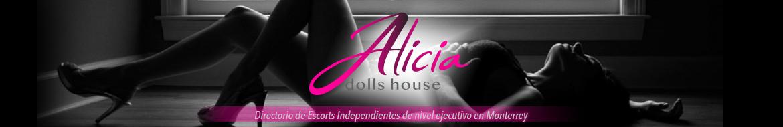 Alicia Dolls House: Executive level scorts on scorts en Monterrey, México